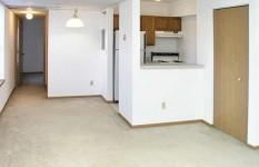 760 Mount Curve Apt. - Living Room Kitchen View 2
