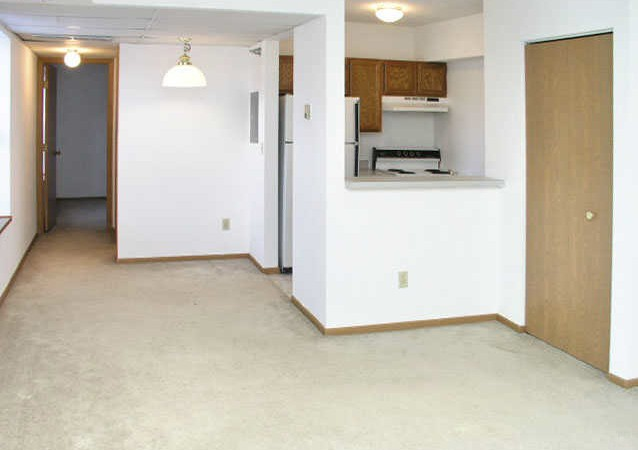 760 Mount Curve Apt. - Living Room Kitchen View 2