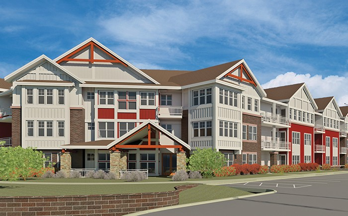 Northern Lakes Senior Living - Rendering