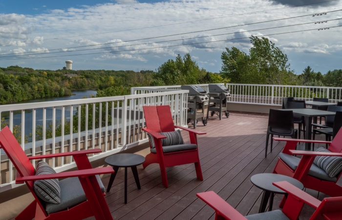 The Heights Outdoor Deck